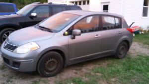 2007 Nissan versa for parts