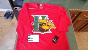 New Halifax Mooseheads Youth SZ XL Jersey