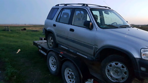 Parting out 97 HONDA crv