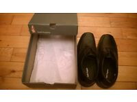 Kickers & Hush Puppy Black Laced Shoes -Never Worn