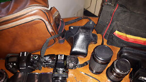 Film cameras and accessories for sale