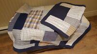 Piqué couvre-lit en coton pour lit simple
