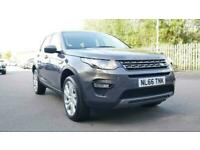 2016 Land Rover Discovery 2.0 TD4 180 SE Tech 5dr FourByFour diesel Manual