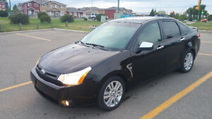 2009 Ford Focus SEL Leather, Sunroof, Factory Remote Starter
