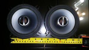 Alpine speakers for car 5.25 inches / haut-parleurs pour auto