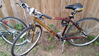 2 Adult Hybrid Bicycles for Sale
