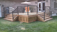 Professional Deck  Construction and Design