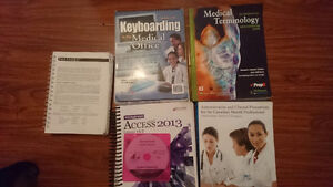 Fanshawe Office Administration Medical (Health Services) Books