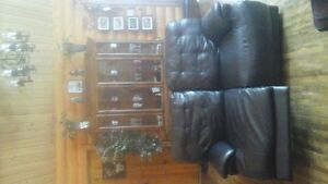 2 Electrical Recliner Love seats with chair