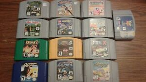 Nintendo games super and n64 collection