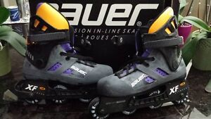 Bauer Precision In-Line Skates Mens Size 9 Like New
