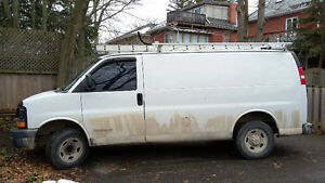 2003 GMC Savana Work Van