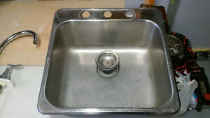 Kindred Kitchen Sink and Moen Faucet