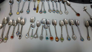 Various Collectible Spoons