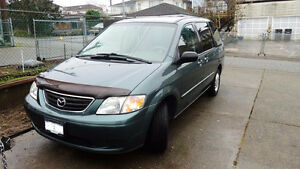 2001 Mazda MPV Minivan excellent condition
