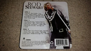 Rod Stewart 3 disks and metal collectors case Mint Condition 9$. London Ontario image 2