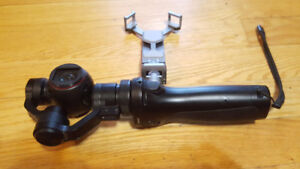 DJI OSMO WITH CHARGER, MIC, AND CASE IN EXC. COND
