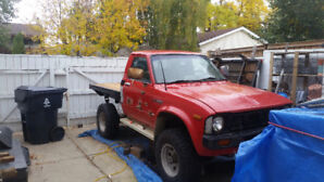 Two (Yes TWO) 1980 Toyota Pickup 4x4
