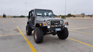 2000 Jeep TJ low mileage - Priced to Move!!!