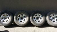 """17"""" 5 Bolt tires and rims"""