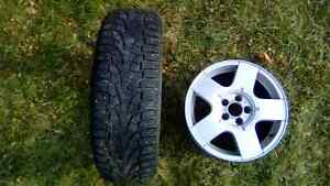 Volkswagen Jetta Golf  winter tires rims. 195/65/15