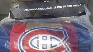 Traineau 6'en Bois Franc Montreal Canadiens 6' Hardwood Toboggan West Island Greater Montréal image 3