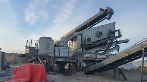New 3 Deck Screener and Cone Cusher, Conveyors