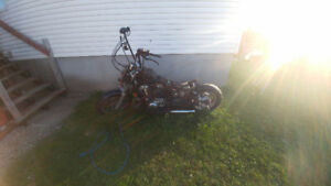 Bobber project to finish/ shadow vt1100