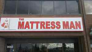 THE MATTRESS MAN COME DOWN CHECK OUT OUR STORE!!!