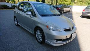 2007 Honda Fit EX 4dr wagon