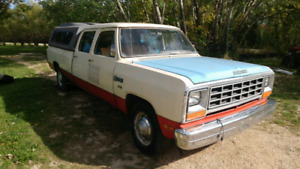 1983 Dodge D-350 two wheel drive Crew cab