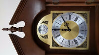 BRAND NEW SOLID MAHOGANY GRANDMOTHER CLOCK FOR SALE