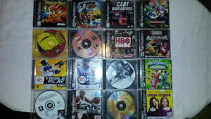 Playstation 1 System, Controller and Great Games
