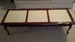 French Provincial Mahogany Coffee Table $40.00 obo