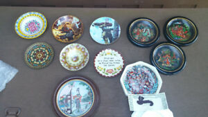 Bradford Exchange plates and Others