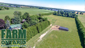 Scenic & Quiet Hobby Farm with Century Home in WATERFORD