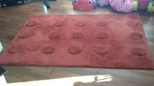 Red rug from pier 1