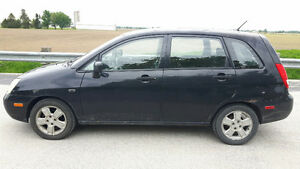 2004 Suzuki Aerio 2.3L Hatchback with 140,000 km for $2,004