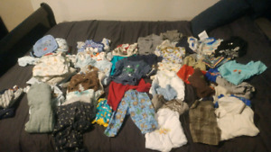 Baby boy clothes new born to 6 months