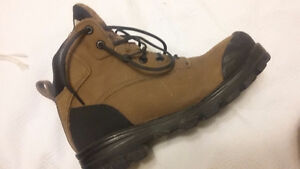 Steel Toed Work Boots $75, Orig.  $100 worn once