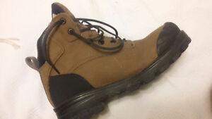 Steel Toed Work Boots $75, Orig.  $100 worn once