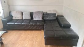 Sofa Home Furniture, good condition angled large