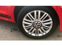 2016 Volkswagen UP 1.0 Look Up 5dr Manual Petrol Hatchback