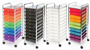 ISO  10-drawer Organizer Rolling Cart