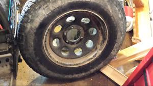 4 steel rims gmc sierra 17 inch