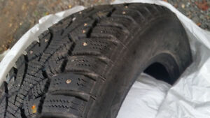 Studded Winter Tires for sale on rims!