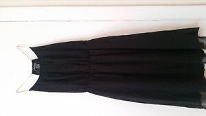 Chiffon party black dress Brand New
