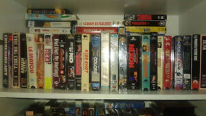 Salut Je possede plus de 5000 VHS 150 Betamax Et Une 100 De DVD West Island Greater Montréal image 5