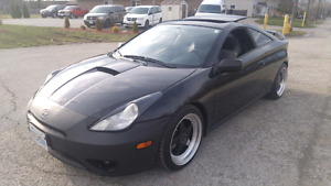 2004 TOYOTA CELICA GT - LEATHER/SUNROOF/LOW KMS/BLUETOOTH/MINT!