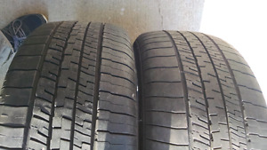 225/45/18 goodyear summer tires. $40 for 2